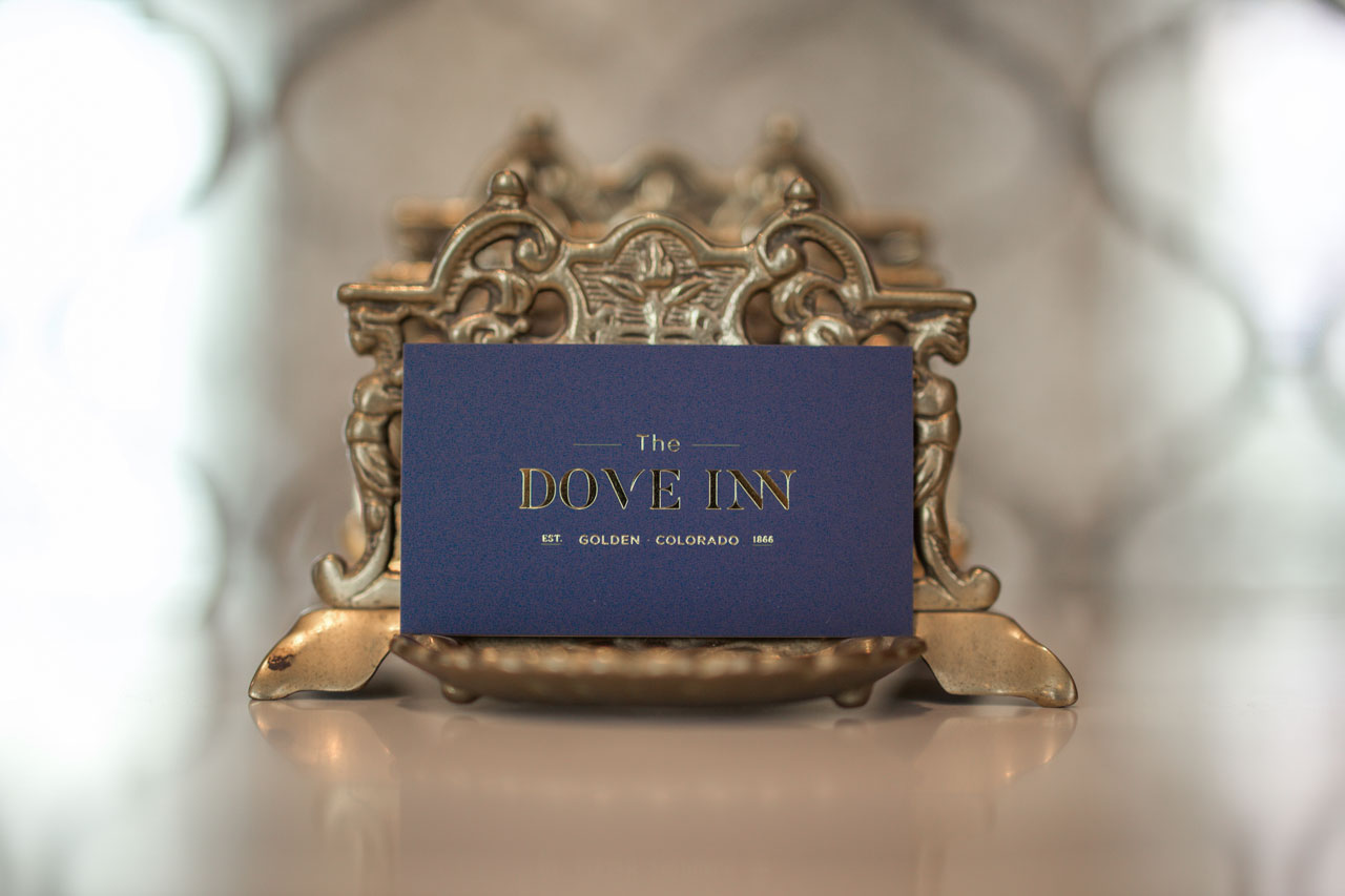 The Dove Inn Business Card