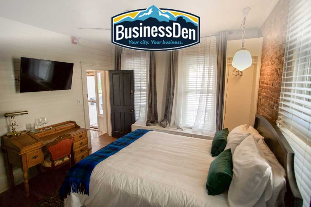 Business Den stops by The Dove Inn