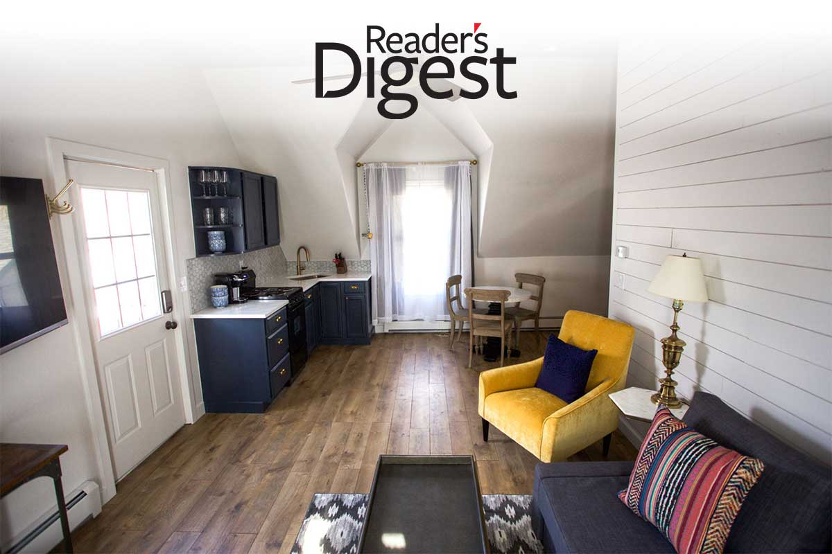 "Dove Inn featured in Reader's Digest's ""Most Charming Inns in the United States Under $200 a Night"""